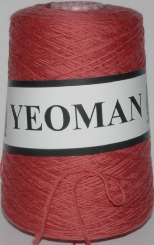 Yeoman Sport  Pure Virgin Merino Wool - Dark Coral